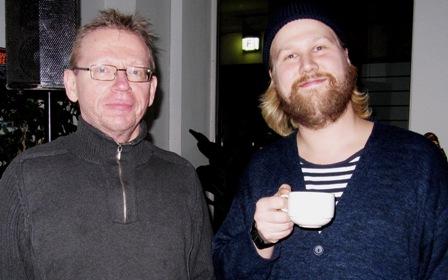 Gunnar Hilén och Harri Hertell