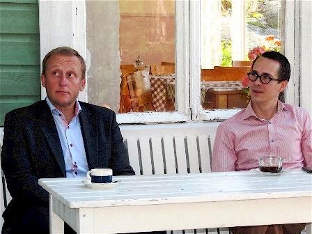 Stefan Törnqvist och Carl Haglund