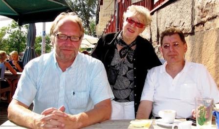 Magnus Hertzberg, Elena Hellberg-Hirn, Gerd-Peter Löcke