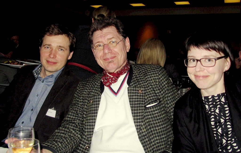 Ant Simons, Gerd-Peter Löcke och Jonna Sahala